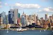 new york city cityscape skyline, nyc, usa