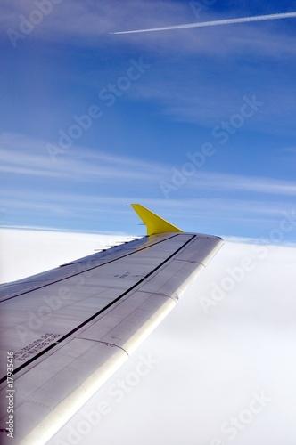 Fotografering  HImmel über den Wolken