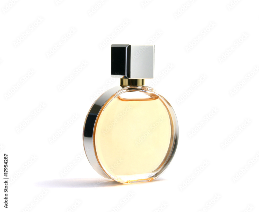Fototapety, obrazy: Perfume in elegant container
