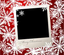 Christmas Vector Photo Card