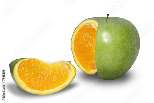 Fotografie, Obraz  Apple orange