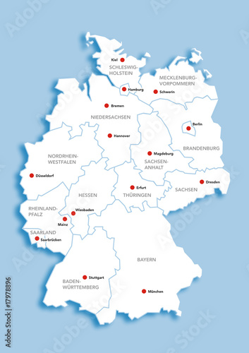 Deutschlandkarte Buy This Stock Illustration And Explore Similar