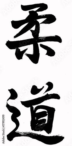 Judo Kanji Wallpaper Mural