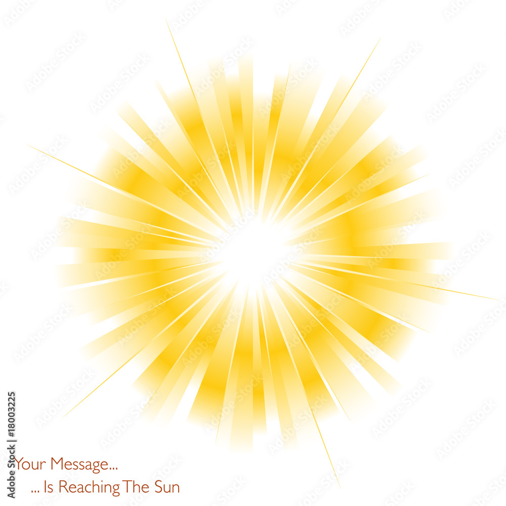 Fototapety, obrazy: The sun is shining