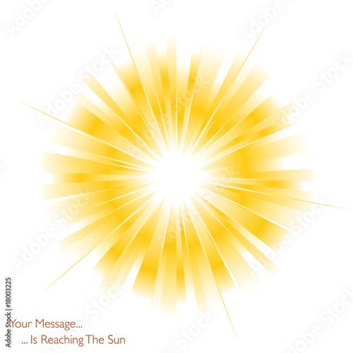 Obraz The sun is shining - fototapety do salonu