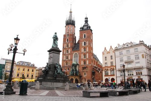 Fototapety, obrazy: Kraków - rynek