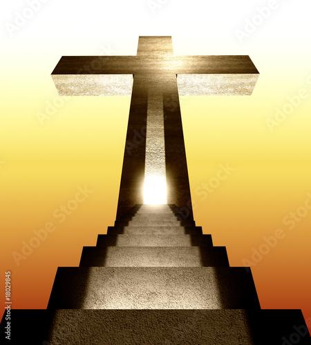 Obraz na płótnie stair to heaven