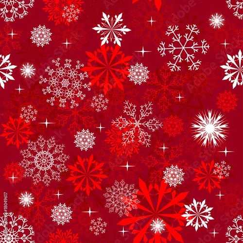 Stoffe zum Nähen seamless snowflakes