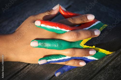 Poster Afrique du Sud wm2010_haende