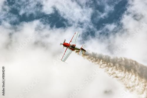 Air acrobatics Canvas Print