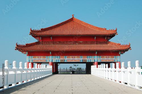In de dag Peking Tainan Lu Er Men Temple
