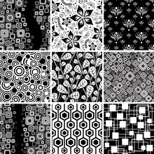 Black-and-white Seamless Collection