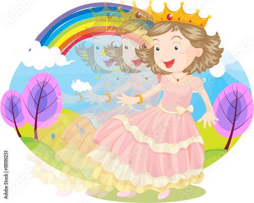 Poster Castle princess