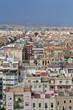 Aerial View of Residential Buildings in Barcelona, Spain