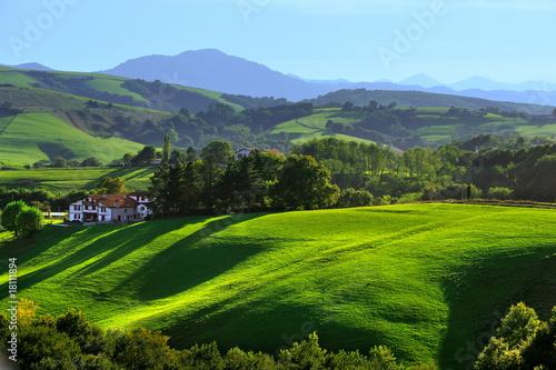 Fotografie, Obraz  le pays basque 1