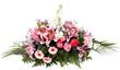 canvas print picture - composition florale