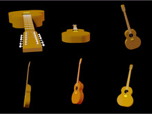 3D Render Of An Acoustic 12-st...