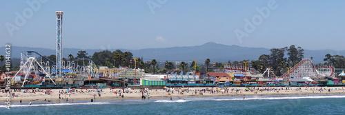 Photo Santa Cruz Boardwalk; Santa Cruz, California