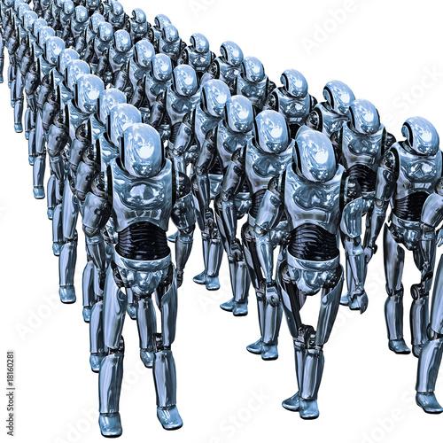 Fotografia, Obraz  Droid Army