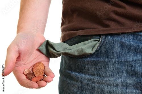 Fotografie, Tablou  Money left in pocket