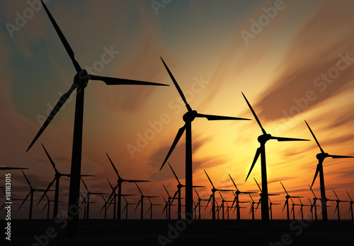 Aluminium Prints Mills Wind power stations