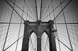 canvas print picture - Brooklyn Bridge