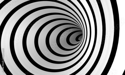 La pose en embrasure Spirale Warped spiral