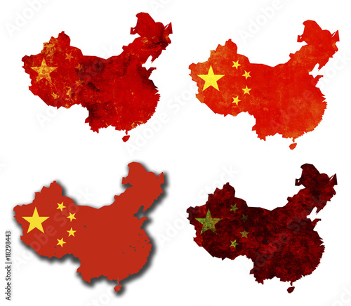 Tuinposter China china territory