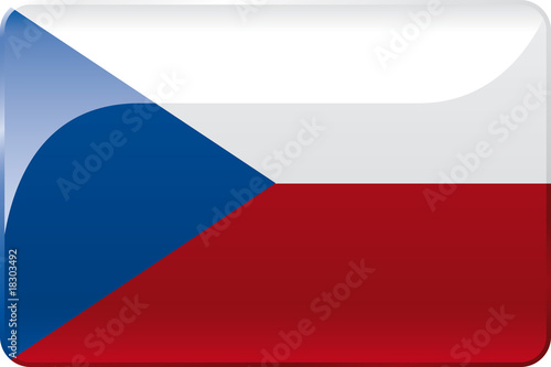 Tschechien Flagge | Czech Republic  Flag фототапет