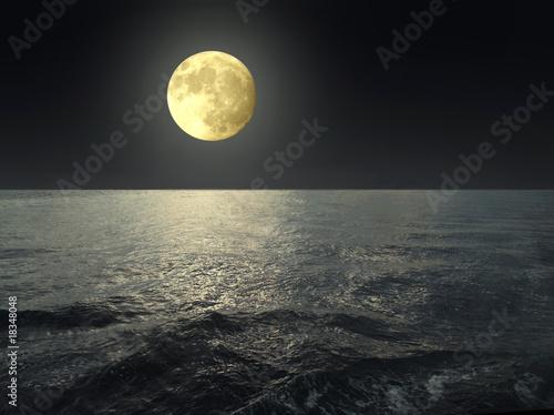 Poster Pleine lune moon