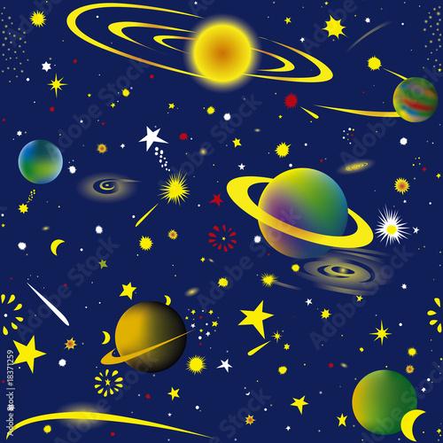 Garden Poster Cosmos Space