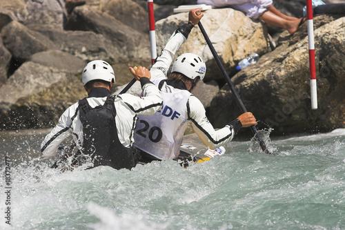 Fotografía  kayak slalom - Bourg Saint Maurice