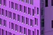 Leinwanddruck Bild - edificio viola