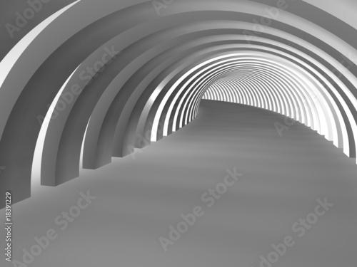 fototapeta na ścianę tunnel 3d