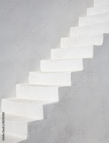Photo Stands Stairs Simply White