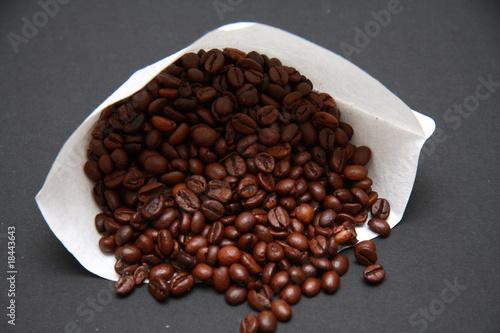 Wall Murals Coffee beans filtre à café