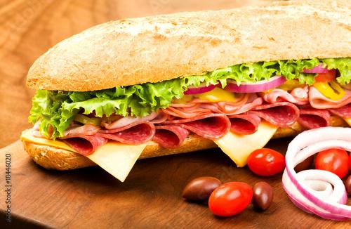 Photo  Submarine Sandwich