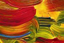 Bright Color Strokes