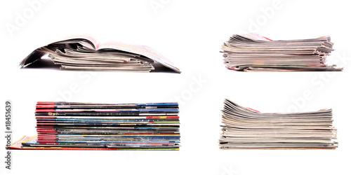 Fotografía  Stack of newspapers