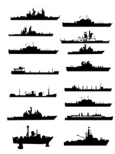 Collection Vector Boat And Shi...
