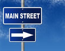 "Traffic Sign ""Main Street"""