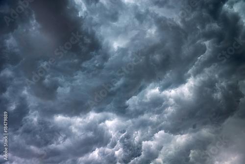 Tablou Canvas Sturm, Gewitterwolken