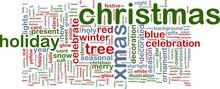 Christmas Word Cloud