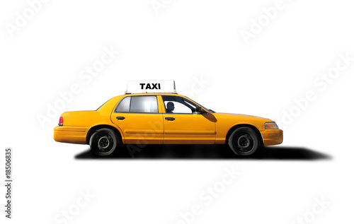 Deurstickers New York TAXI taxi