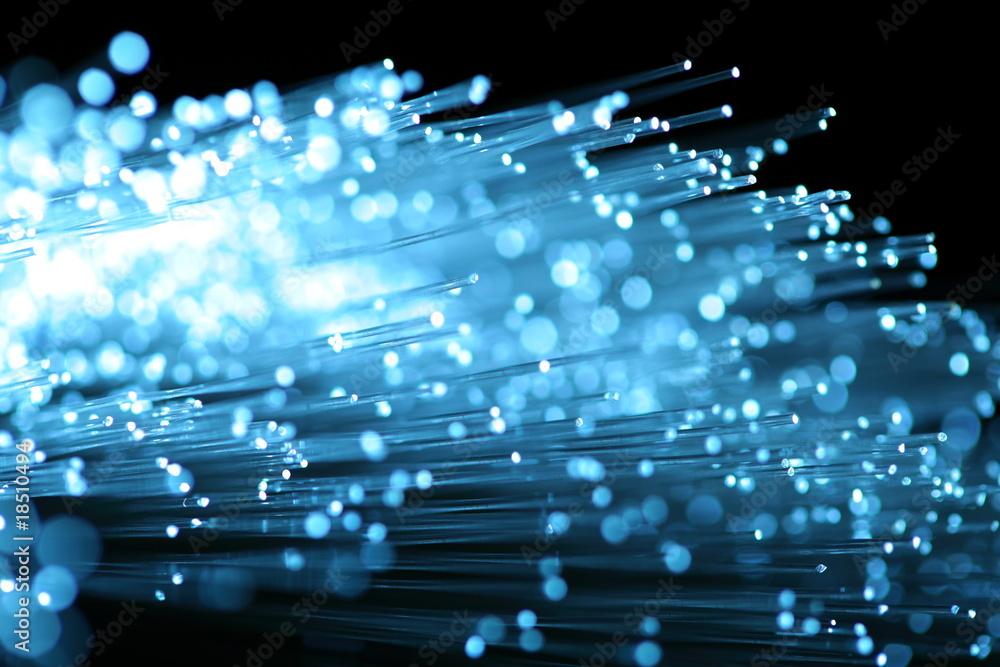 Fototapety, obrazy: abstract view of fiber optics
