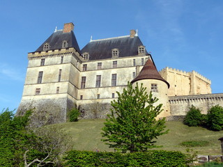 Fototapeta na wymiar Château de Biron