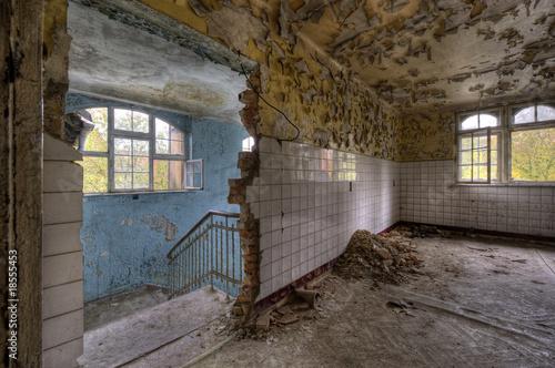 Cadres-photo bureau Ancien hôpital Beelitz ancient hospital room
