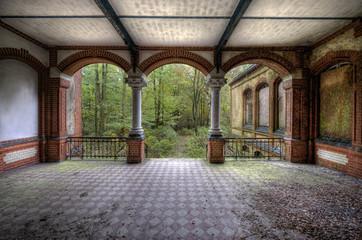 FototapetaSäulenaufgang