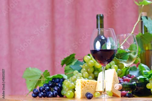 Fototapety, obrazy: wine in glass.