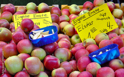 Photographie Apples for sale (eigene erte)